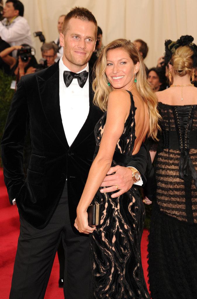 Gisele Bündchen and Tom Brady