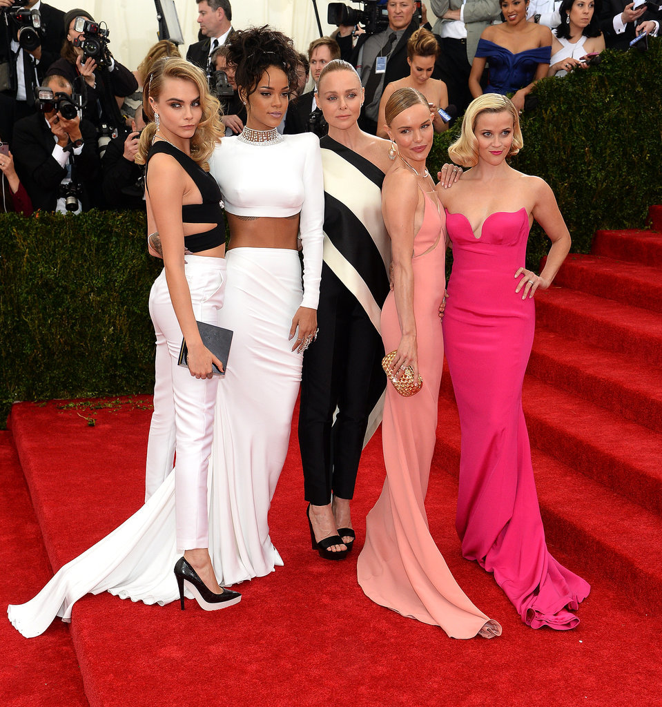 Reese Trades Her Met Gala Dream Team For Zooey Deschanel