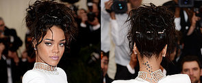 Rihanna Rocks a High Up 'Do in a Nod to the '90s