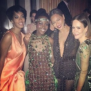 Celebrity Instagram Pictures at the Met Gala 2014