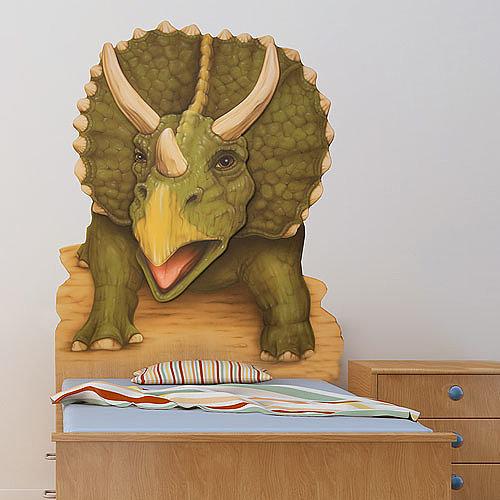 Triceratops Headboard