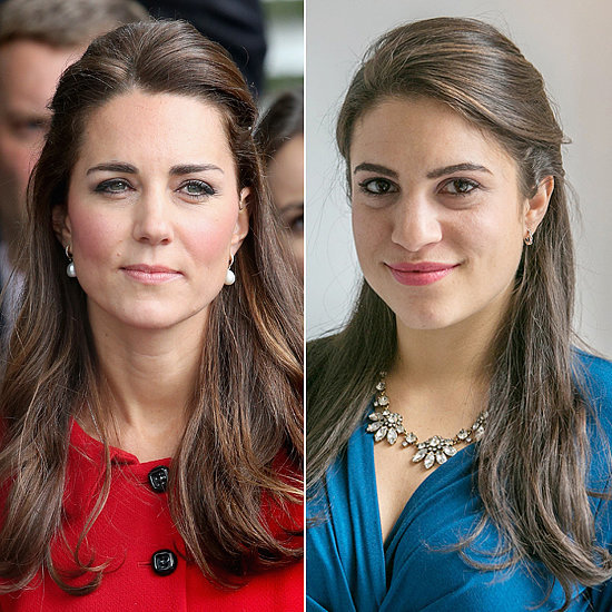 Try This Knotted Style Inspired by Kate Middleton's Half-Up Hair