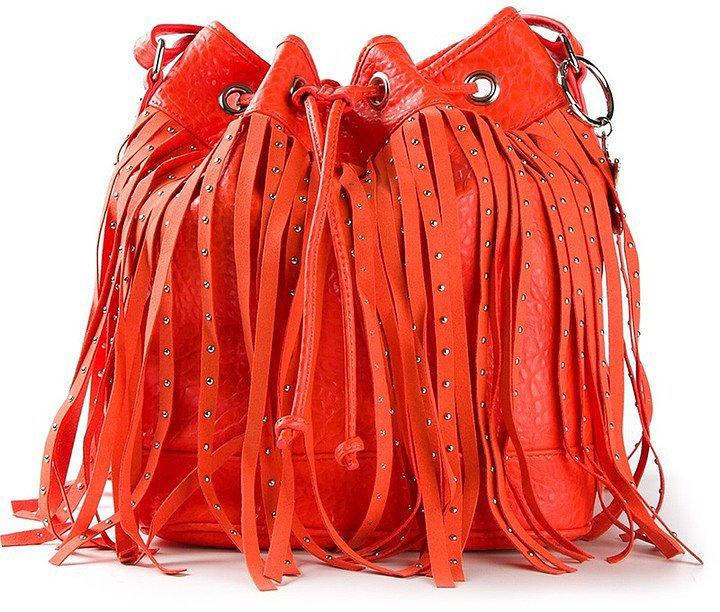 Mia Fringed Bucket Bag
