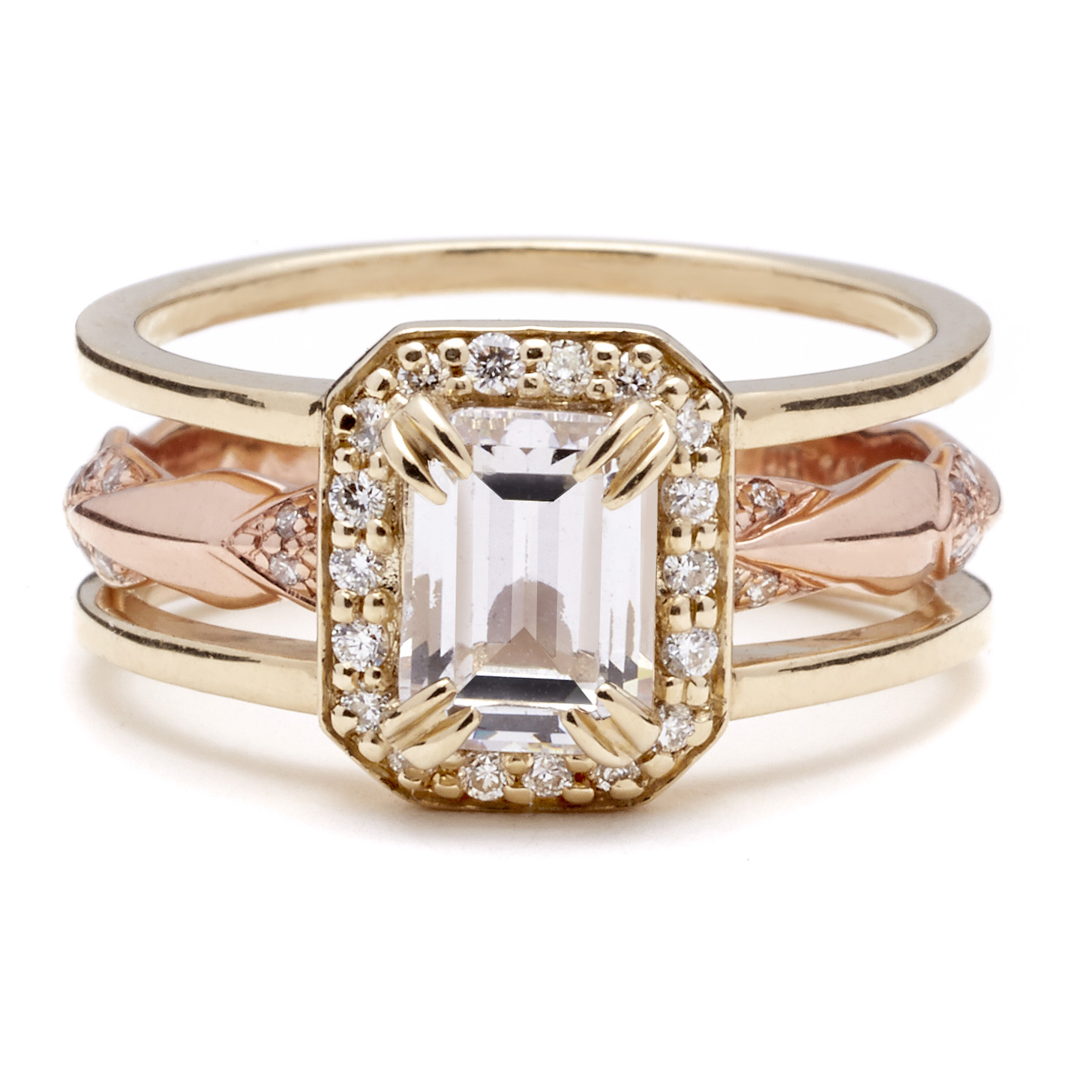 Anna Sheffield Rose Gold Engagement Ring