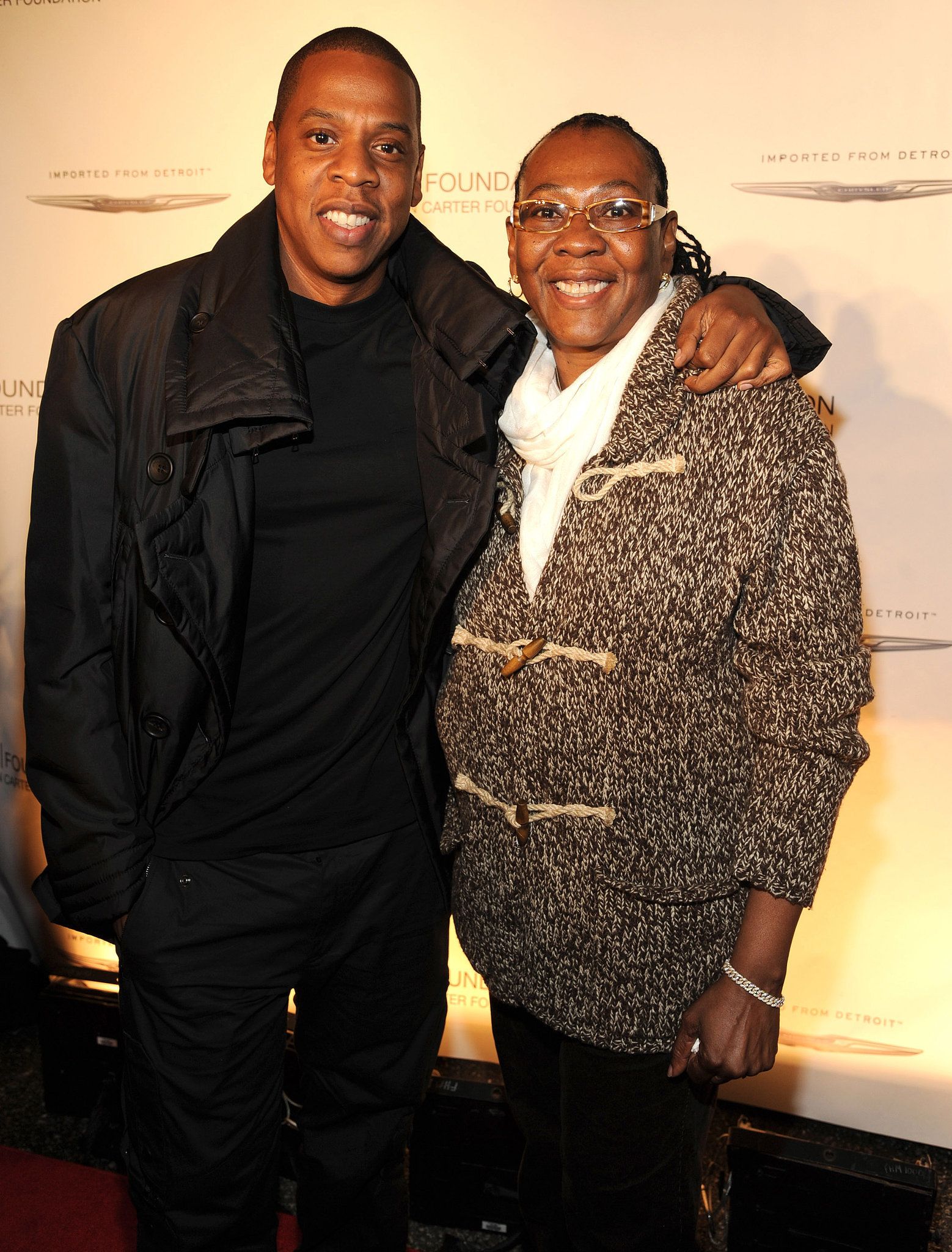 Jay Z and Gloria Carter
