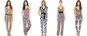 Jump Into Summer in a Printed Jumpsuit