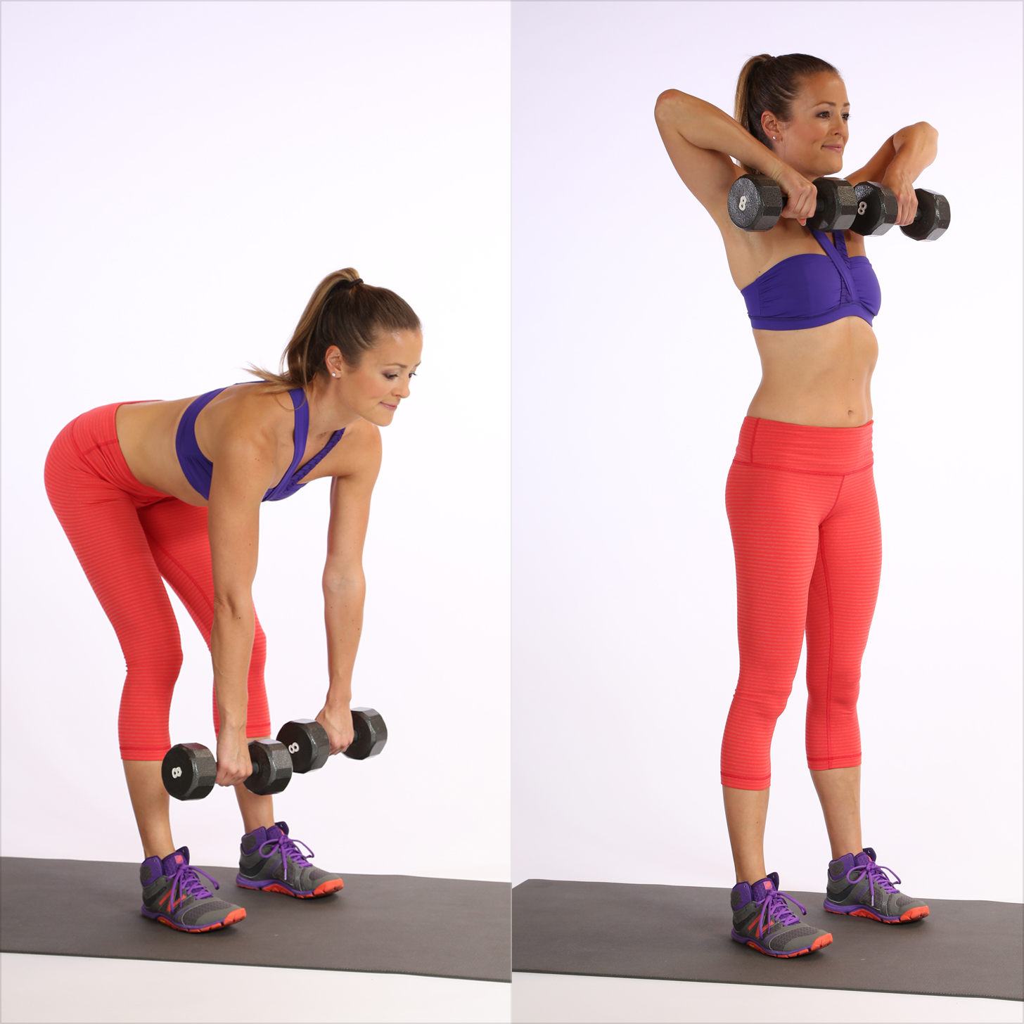 Circuit Three: Deadlift With Front Row