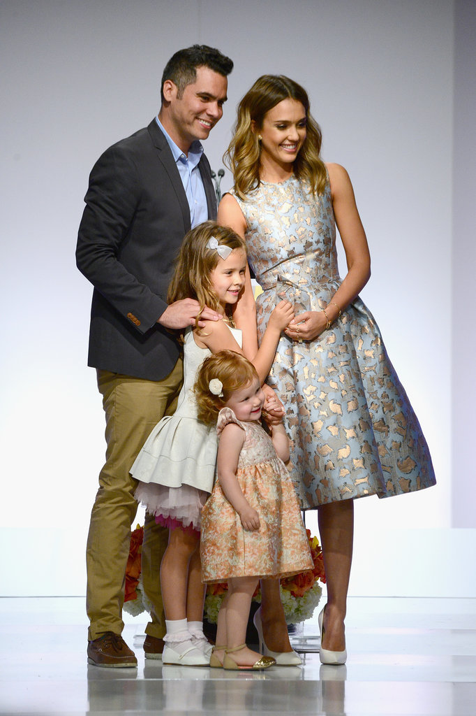 Aww! Jessica Alba Celebrates Her Mother of the Year Award With Her Family