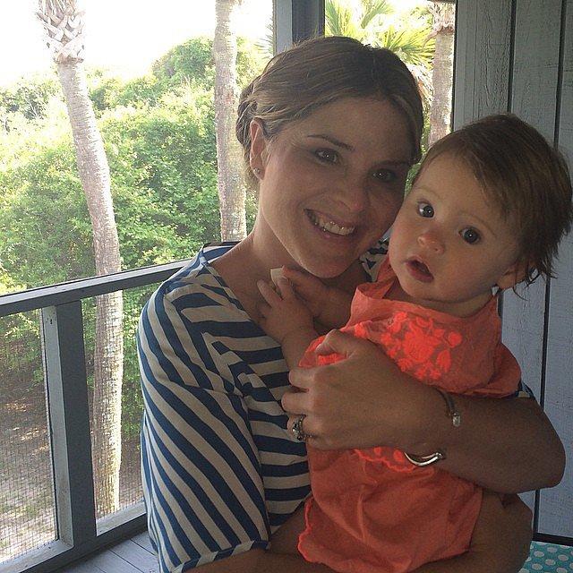 Jenna Bush Hager and Mila
