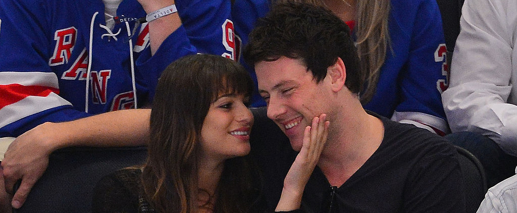 "Lea Michele Writes About Cory Monteith's ""Beautiful Smile"" on His Birthday"