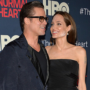 Brad Pitt, Angelina Jolie at The Normal Heart NYC Premiere
