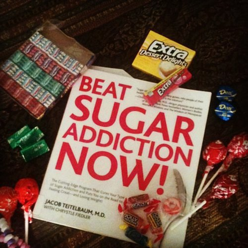 Sochristic was reading a book on beating sugar addiction.