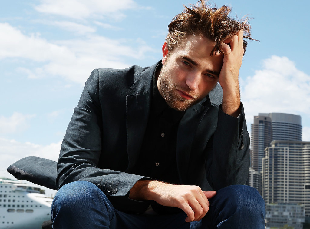 Robert put his signature move front and center for a Sydney photocall in October 2012.