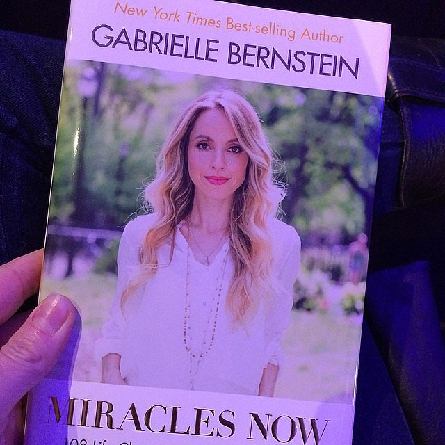 Core_life_vitality snapped a pic of Gabby Bernstein's book Miracles Now.