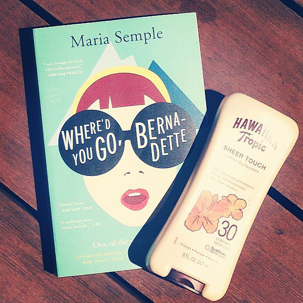 """Books and bikinis — my weekend in a nutshell,"" writes lauramariemeyers."