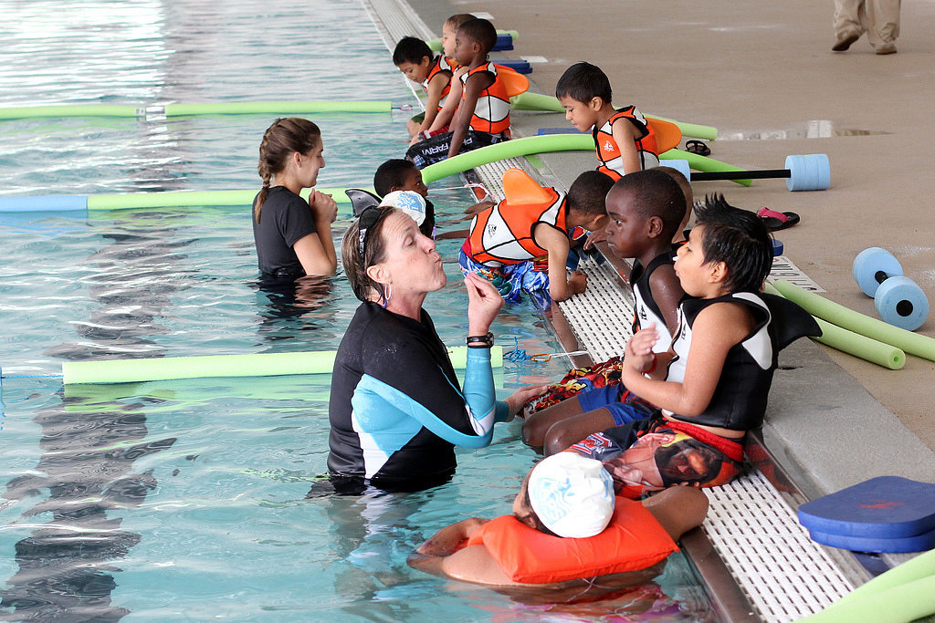African-American kids are three times more likely to drown than caucasian kids.