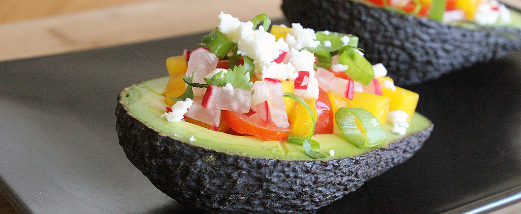 Taste the Rainbow: Summer-Salad-Stuffed Avocado