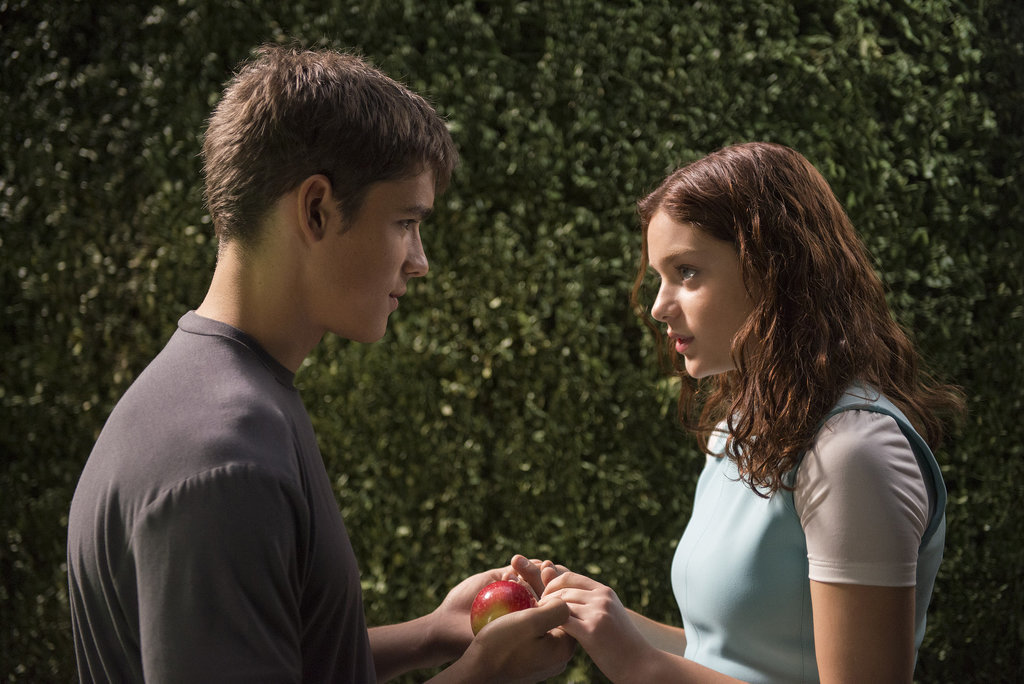 The Giver Pictures Feature Brunette Taylor Swift