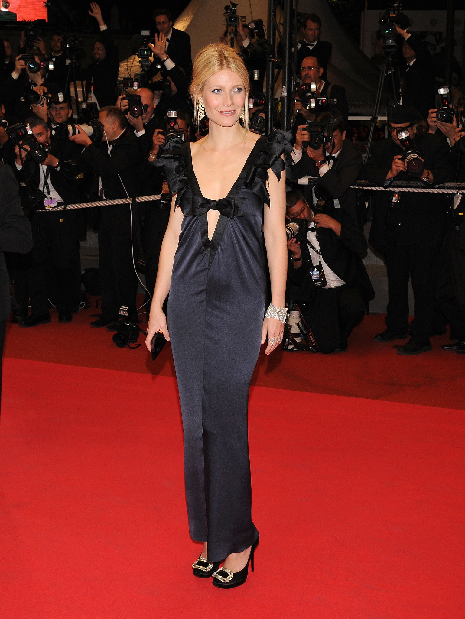 Gwyneth Paltrow looked gorgeous at the festival in 2008.