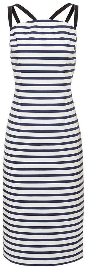 Tanya Taylor Striped Dress