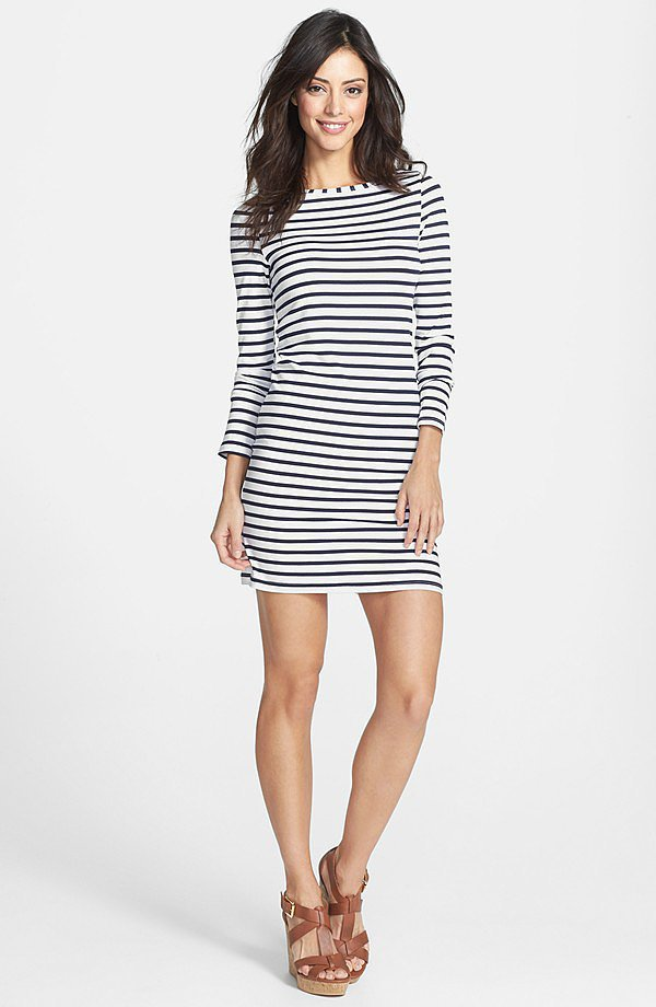 Mott Striped Dress