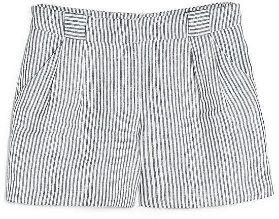 Mango Striped Shorts