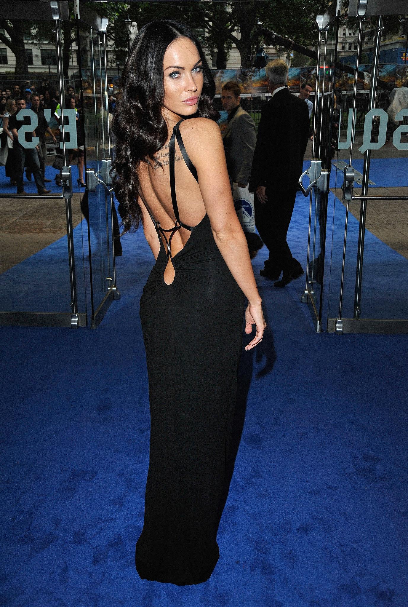 Megan Fox in Black KaufmanFranco at the 2009 Transformers: Revenge of the Fallen UK Premiere