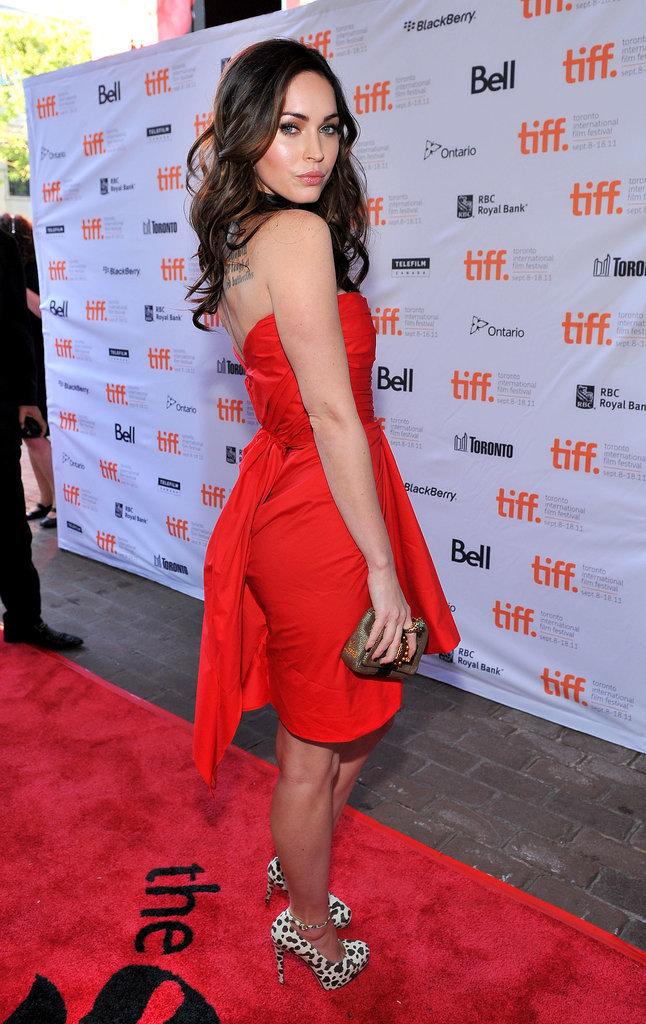 Megan Fox in Thakoon at the 2011 Toronto International Film Festival