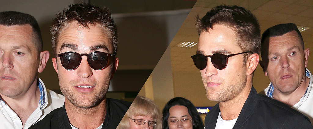 Oh There You Are, Robert Pattinson!
