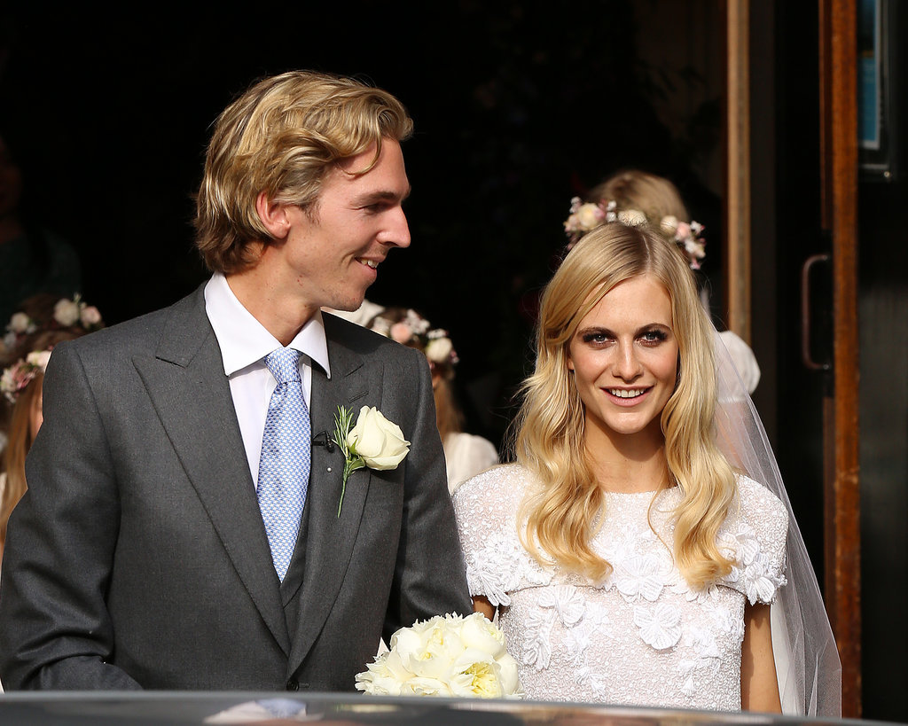 Poppy Delevingne married her longtime partner James Cook at St. Paul's Church in Knightsbridge, London, on Friday.