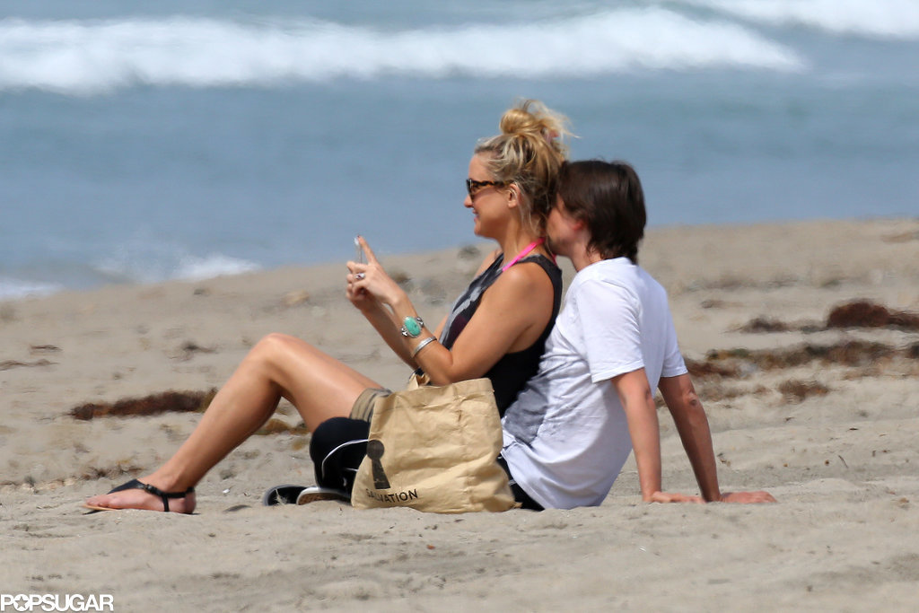 Kate Hudson and Matthew Bellamy announced their on-again status back in April 2014 with kisses and cuddles on a Malibu beach.