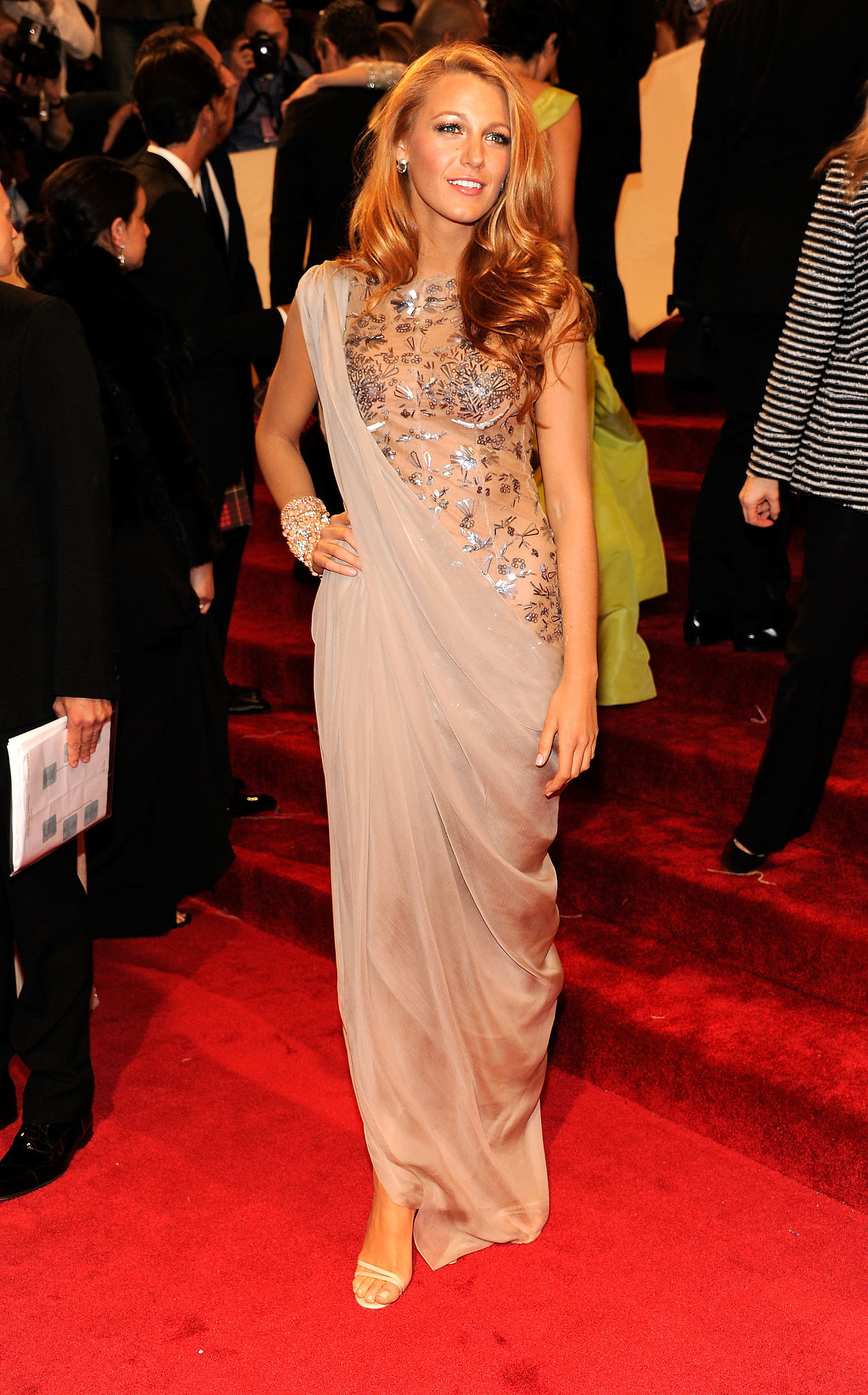 When She Stepped Out For the 2011 Met Gala