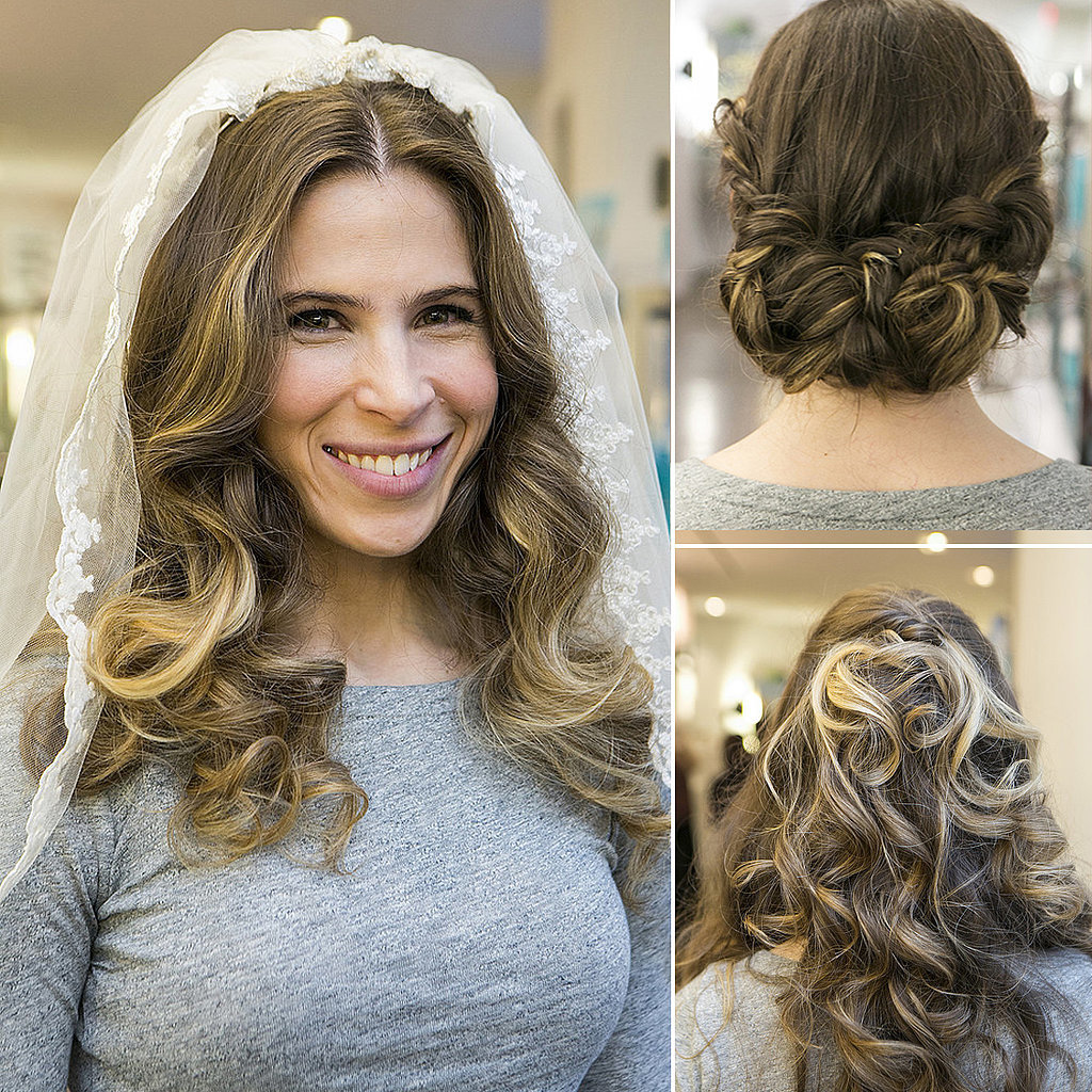 Easy Hairstyles For Wedding Reception : How to change your hair for wedding popsugar beauty