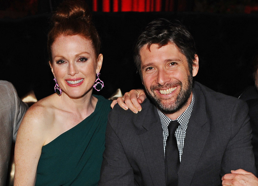 Julianne Moore and her husband Bart Freundlich partied at a private villa on Saturday.