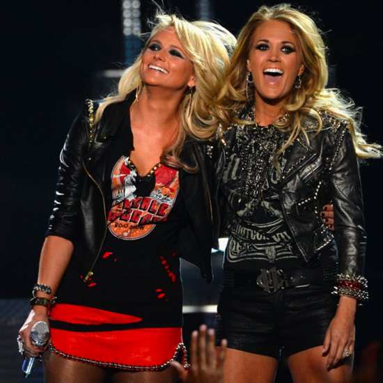 Miranda Lambert and Carrie Underwood at Billboard Awards