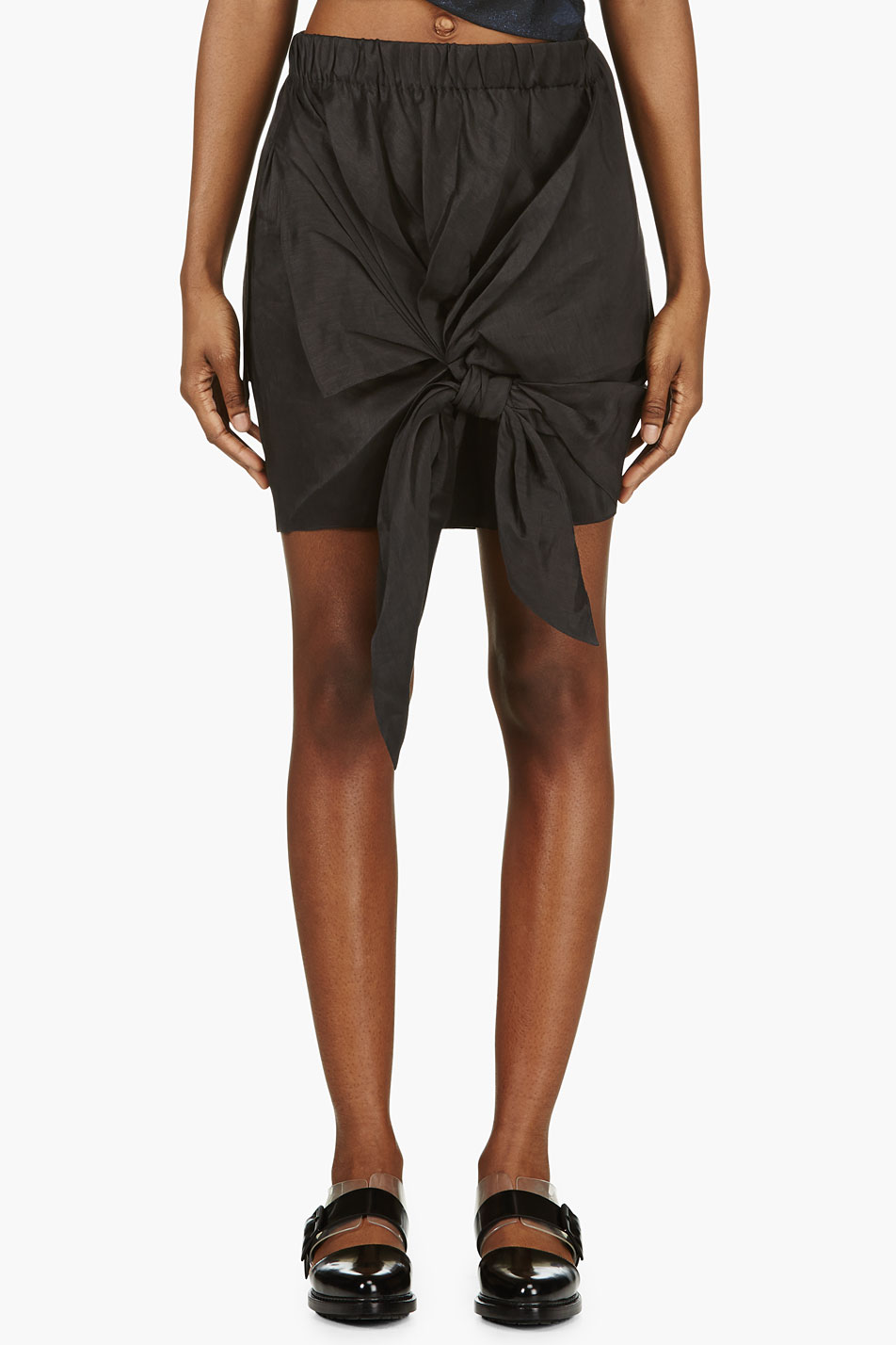 Acne Knotted Front Skirt