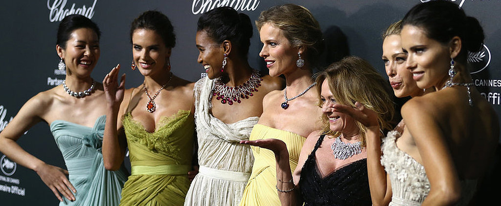 Adriana, Alessandra, Suki and More Supermodels Take Cannes at Chopard's Bash