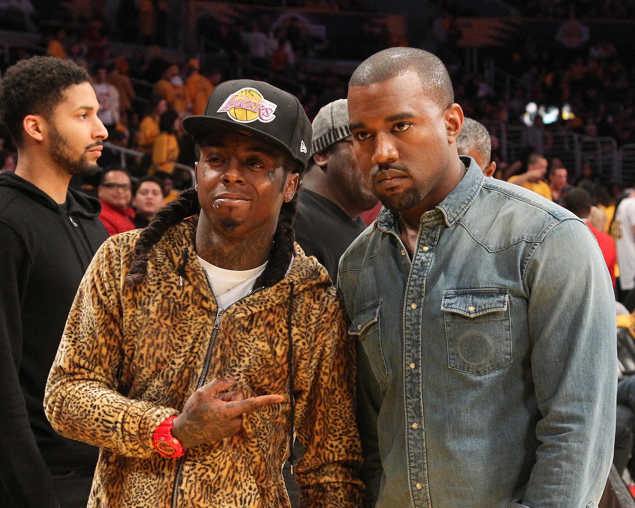 Lakers Game With Lil Wayne? Nah