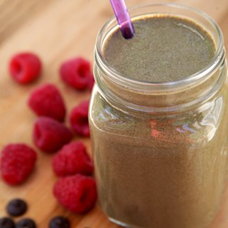 High Protein Vegan Chocolate Smoothie