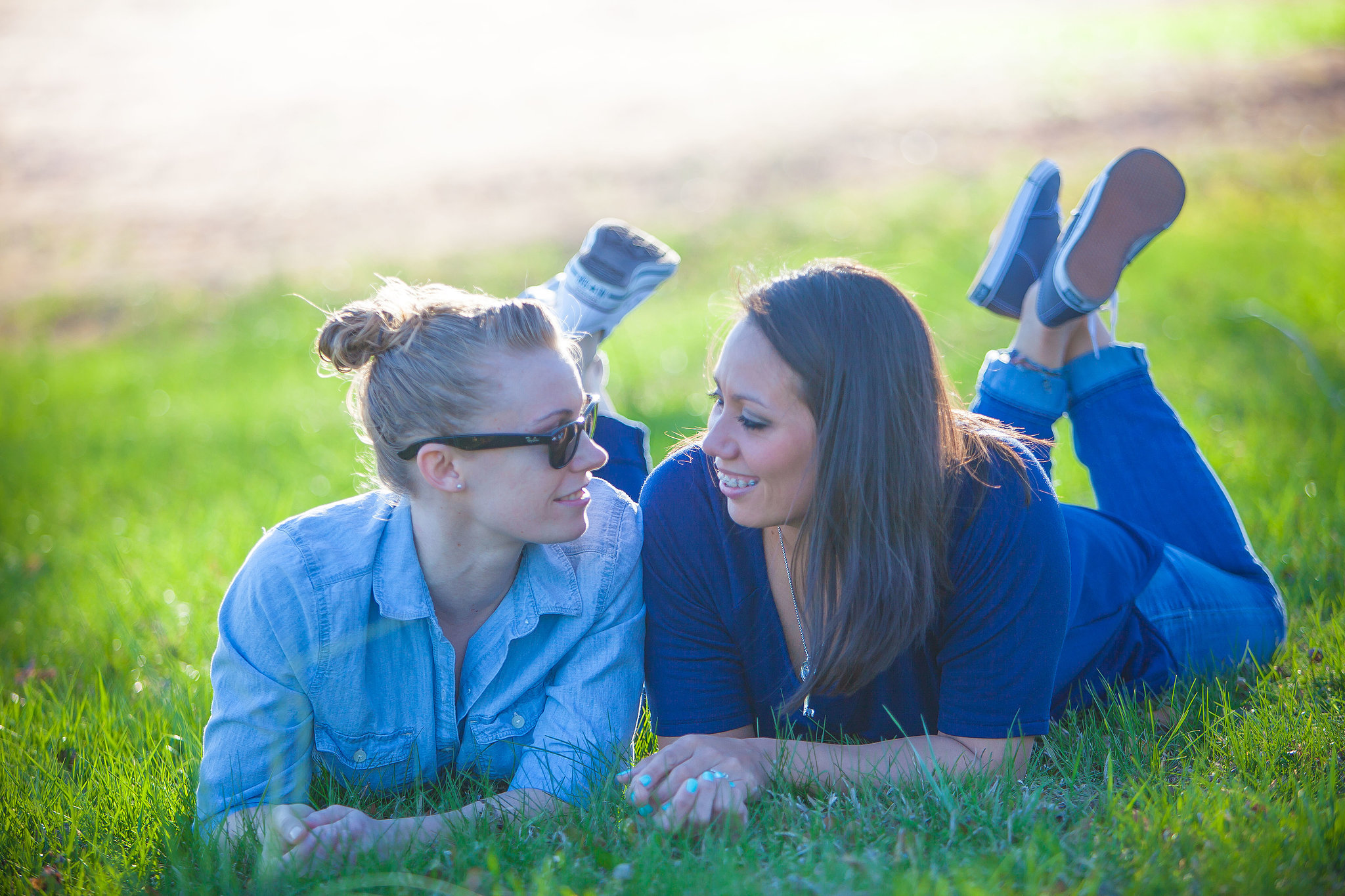 Rocky and Christie's Sweet and Sporty Engagement Shoot