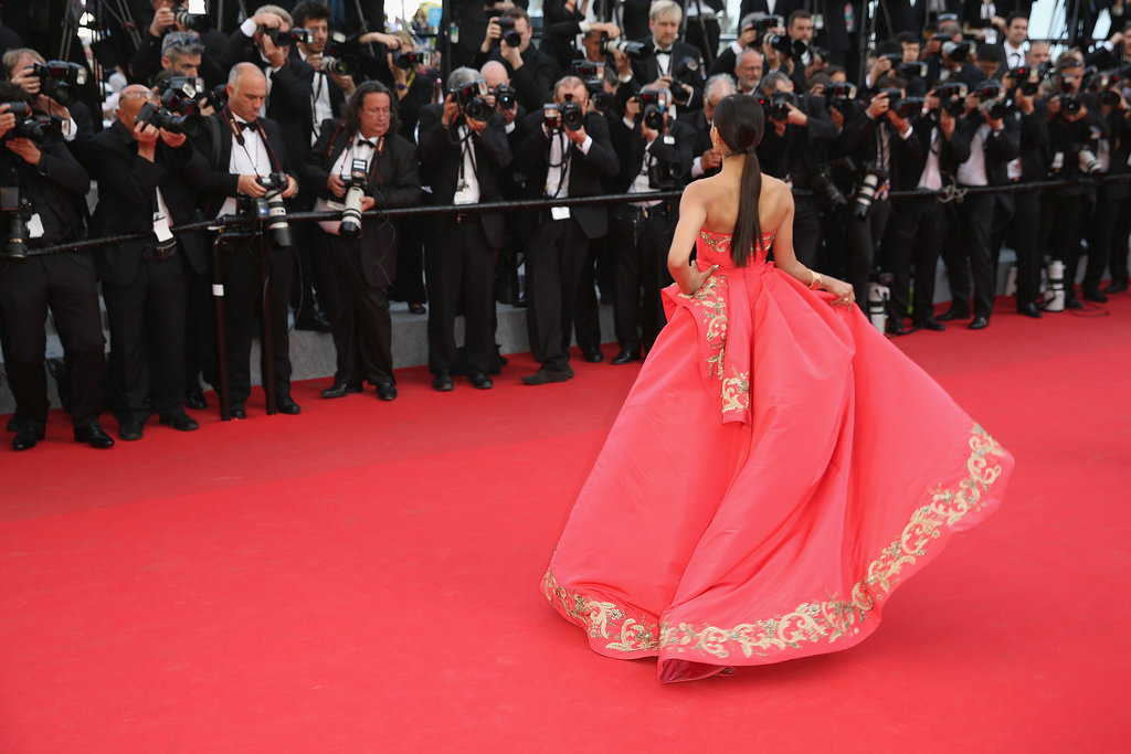Freida Pinto made a splash at the premiere of The Homesman.