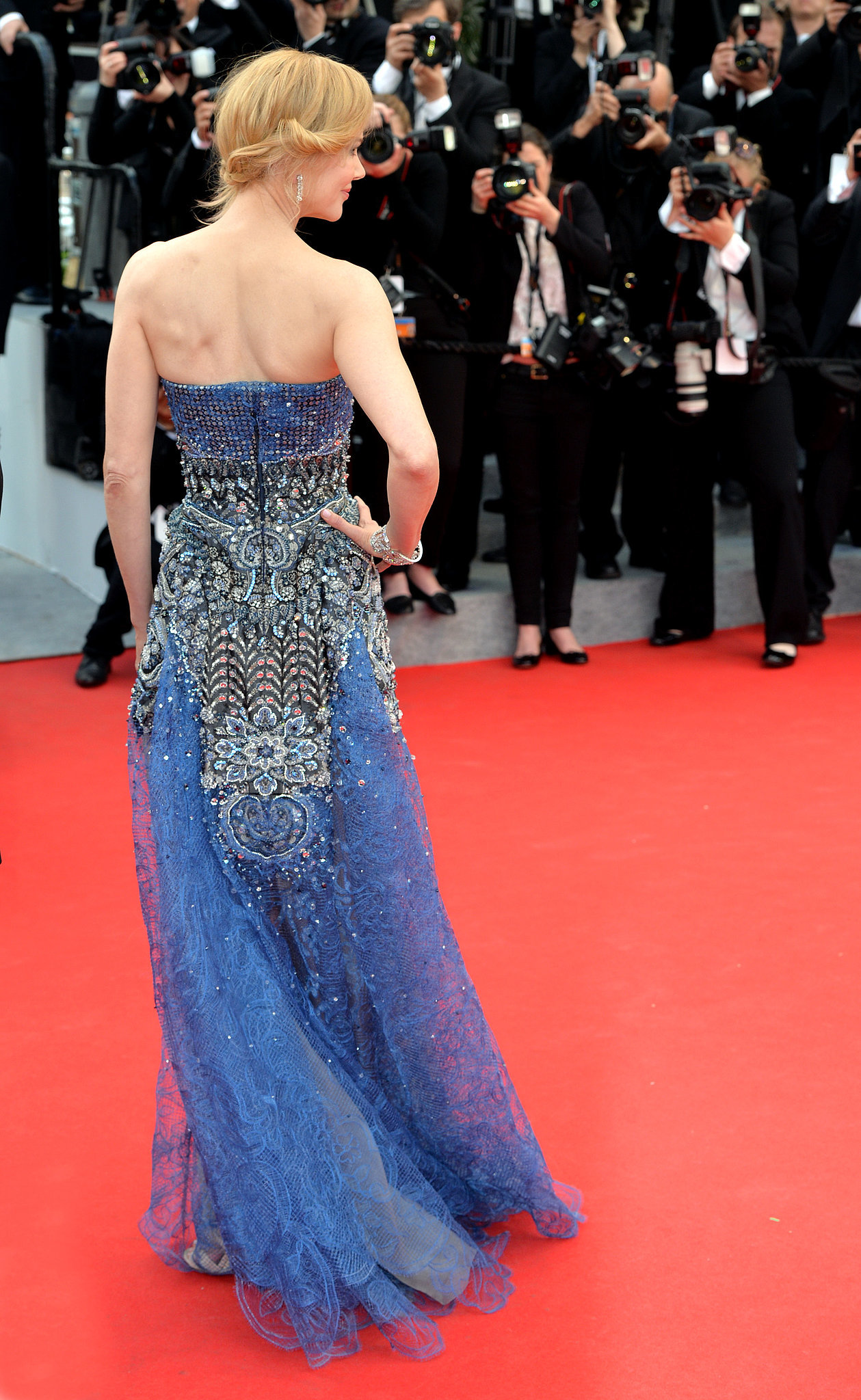 Nicole Kidman was the belle of the ball at the Grace of Monaco premiere.
