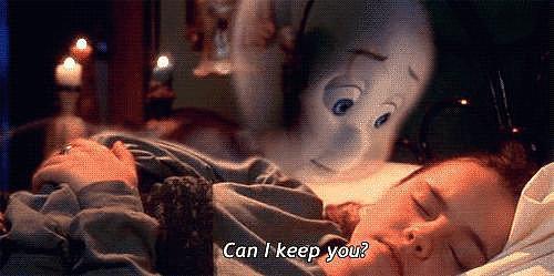 Then She Befriended Ghosts in Casper
