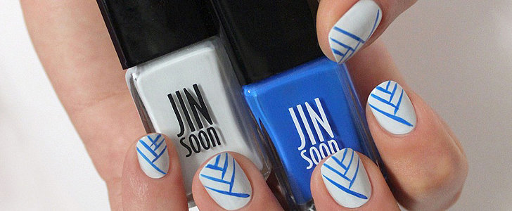 How to Wear Summer Stripes on Your Nails