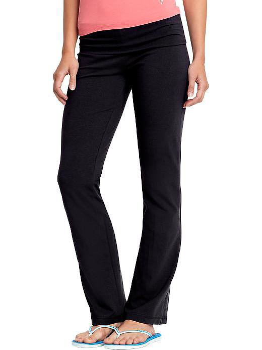 Yoga Pants Old Navy Old Navy Fold-over Yoga Pants