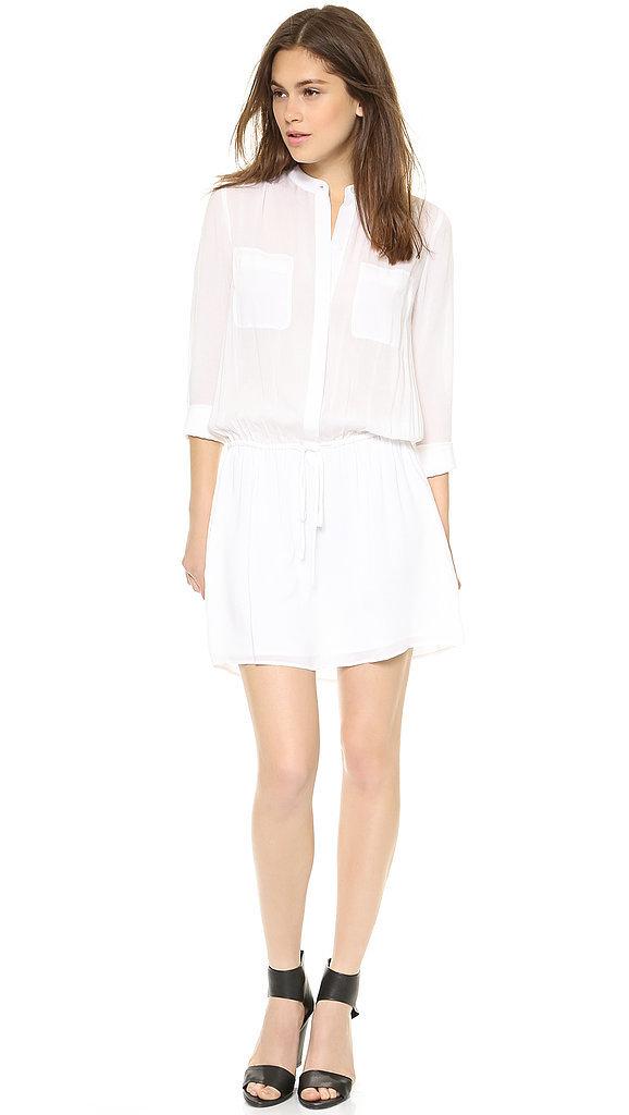 Vince White Shirtdress