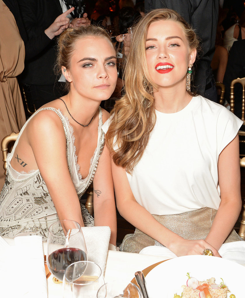 Cara Delevingne and Amber Heard were a standout duo at the Fatale in Cannes party.