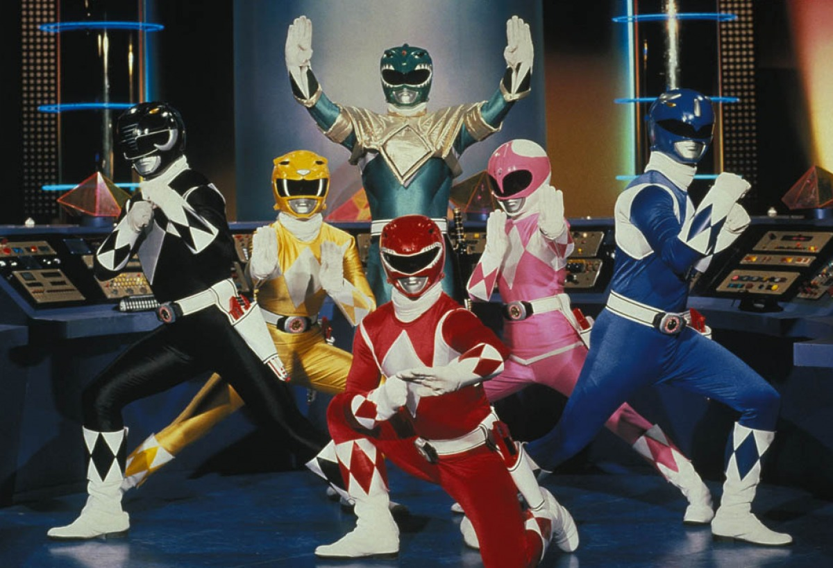 The Power Rangers Reboot