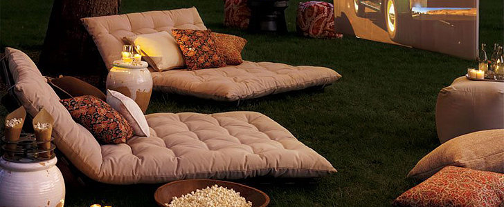 Style Your Staycation: Backyard Movie Night
