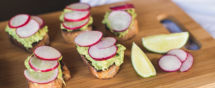 Savory Sight: Avocado Radish Toast